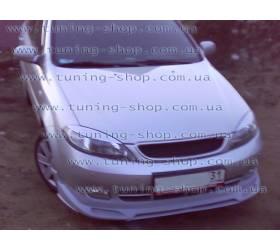 Накладка переднего бампера Chevrolet Lacetti Hb (Zodiak-style)