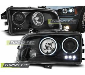 Передние фары Dodge Charger LX 2006-2010 (LPDO12)