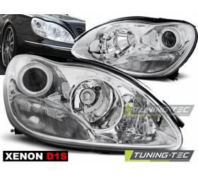 Передние фары Xenon Mercedes W220 (LPME78)