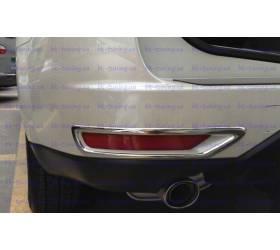 Накладки на задние туманки Subaru Forester (SF-L03)