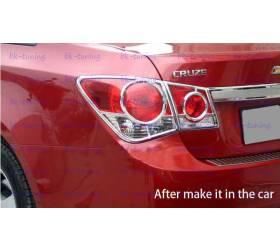 Накладки на задние фонари Chevrolet Cruze (CCR-L12)