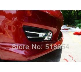 Накладки на туманки Nissan Tiida (NT-L13)