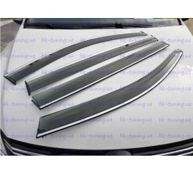 Дефлекторы окон Nissan Tiida (NT-V11)