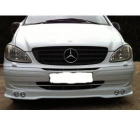 Накладка на бампер Mercedes Vito W639 AMG-style