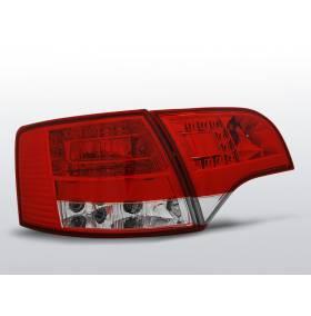 Задние диодные фонари Audi A4 B7 Avant  (LDAU37)