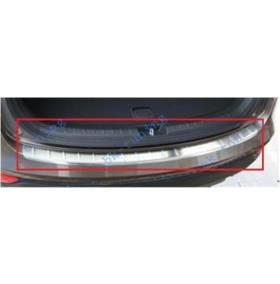 Накладка на бампер Hyundai Santa Fe 2013 (HS-P36)