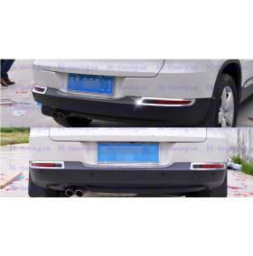 Хром на задние туманки VW Tiguan (TG-L24)