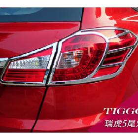 Накладки на задние фонари Chery Tiggo 2014 (TI-L42)