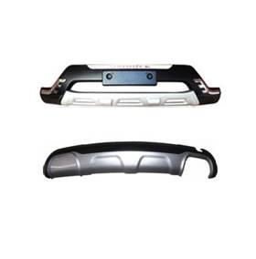 Накладки на бампер Hyundai Santa Fe 2014 (HS-B33/B34)