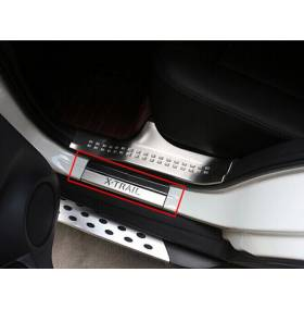 Накладки на пороги Nissan X-Trail 2015 (NX-P44)
