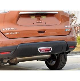 Хром на задний фонарь Nissan X-Trail 2014 (NX-L45)
