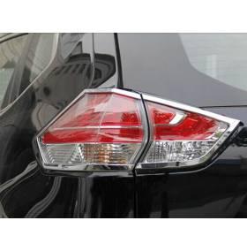 Хром на задние фонари Nissan X-Trail 2014 (NX-L42)