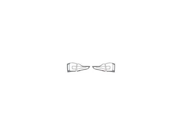 Накладка на задние стопы Kia Sorento 2013 (KSO-L32)