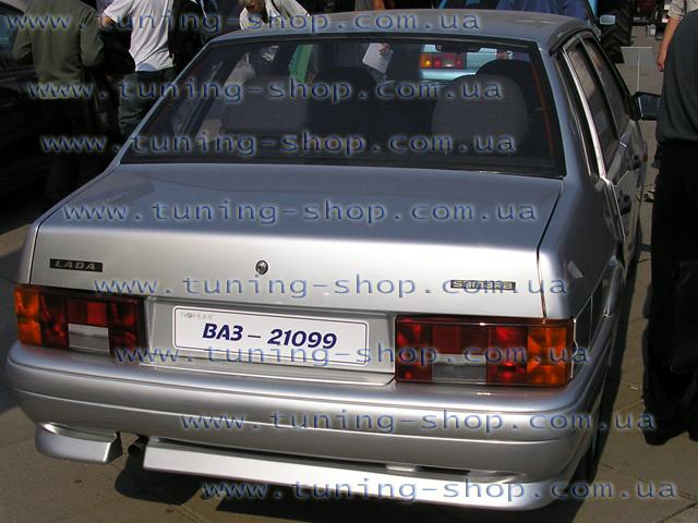 Задний бампер nova - тюнинг обвес к ВАЗ 21099, 2115 Материал ZA73