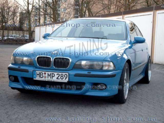 реснички на фары на BMW 5 e39