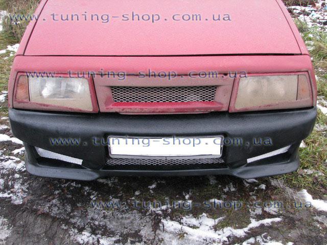 Передний бампер ВАЗ 2108