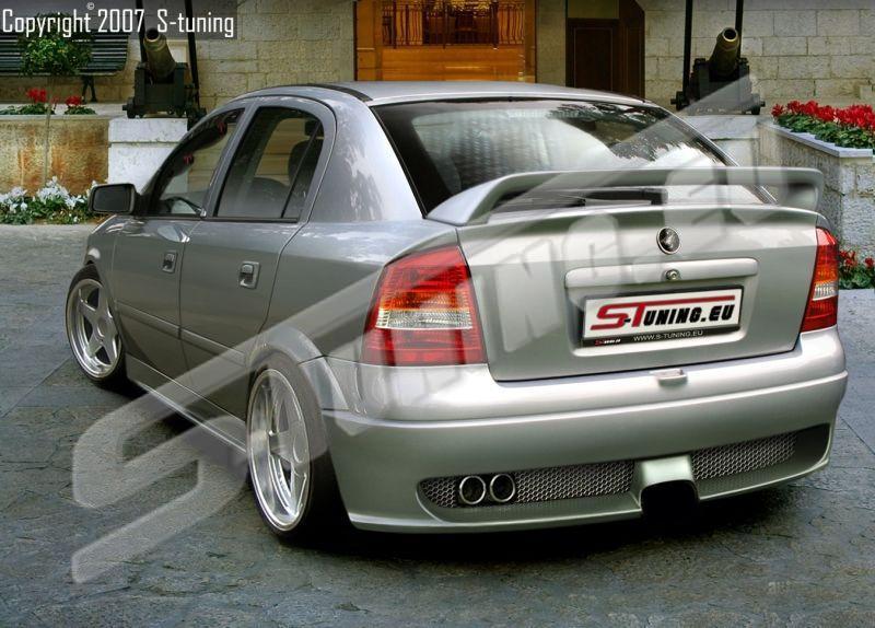 Спойлер Scorpion Opel Astra G