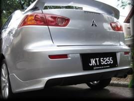 C 01. 04. 2009 года - в продаже тюнинг обвес на Mitsubishi Lancer X Zodiak-style