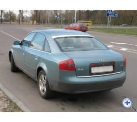 Накладка на заднее стекло c подъемом для Audi A6 (4B,C5) (1997 - 2004)