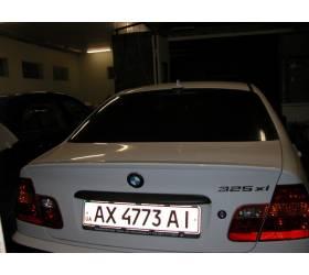 Лип Спойлер BMW E46