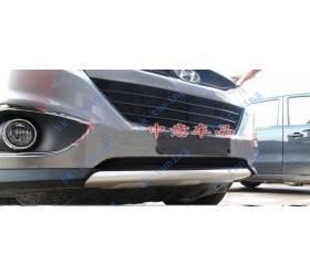 Накладка на бампер Hyundai IX-35 (HT-B911)