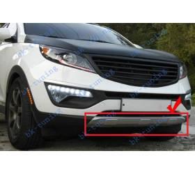 Защита переднего бампер Kia Sportage 2010 (KSP-B04)
