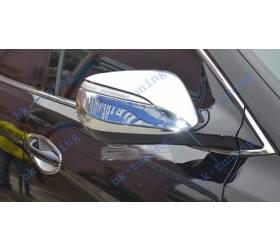 Хром накладки на зеркала Санта Фе 2013 (HS-C38)