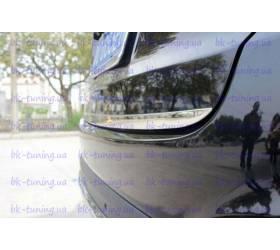 Молдинг на заднюю дверь низ Hyundai IX-35 (HT-D99)