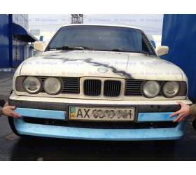 Накладка переднего бампер BMW E34