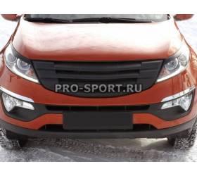 Решетка радиатора Kia Sportage 2014 MOD-3 (RE-22525)