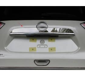 Хромированная накладка над номером Nissan X-Trail 2014+ (NX-D43)