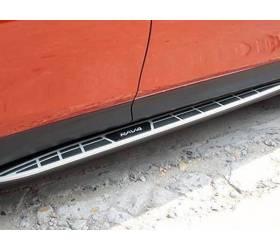 Пороги тюнинг Toyota Rav-4 2013 (RV-S35)