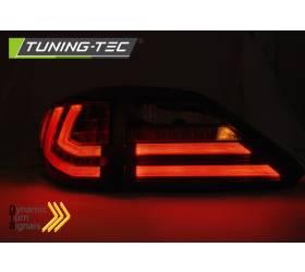 Диодные задние фонари Lexus RX 2009-2012 (LDLE06)