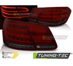Задние диодные фонари Mercedes W212 2013-2016 (LDMEB3)