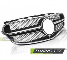 Решетка радиатора Mercedes W212 2013-2016 (GRME25)