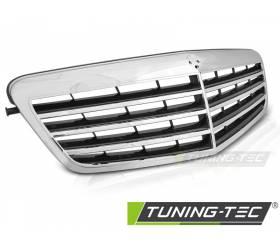 Решетка радиатора Mercedes W212 2009-2013 (GRME10)