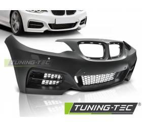 Передний бампер BMW F22/F23 2013- M235-style под датчики парковки (ZPBM39)