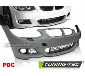 Передний бампер BMW E92 / E93 2010-2013 под датчики парковки (ZPBM48)