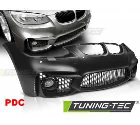 Передний бампер BMW E92 / E93 2010-2013 под датчики парковки (ZPBM43)