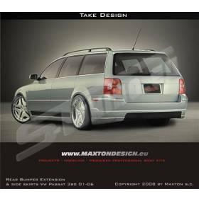 Накладка заднего бампера Extension Wagon VW Passat B5