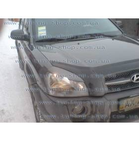 Реснички на фары Hyundai Tucson
