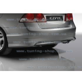 Юбка задняя Honda Civic 06 (LT-style)