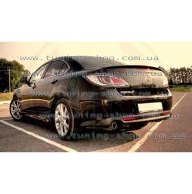 Спойлер Mazda 6 2008 (сабля на багажник)