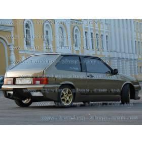 Задний бампер Lukoil Racing Ваз 2108