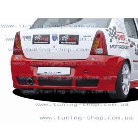 Задний бампер Dacia Logan (NL)
