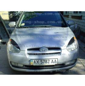 Реснички Hyundai Accent (широкие)