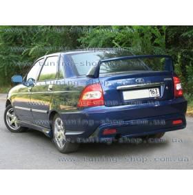 Задний бампер ВАЗ 2170 Приора (Кредо)