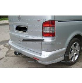 Накладка заднего бампера VW T5