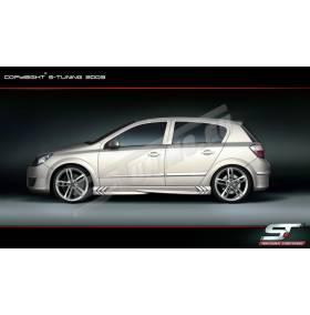 Пороги S-POWER Opel Astra H