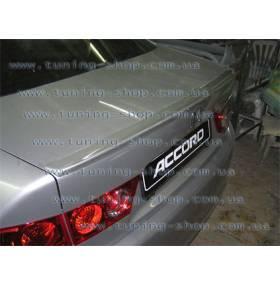 Спойлер Honda Accord 2003 (сабля на багажник)